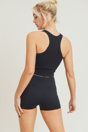 Poppy Active Tank Black