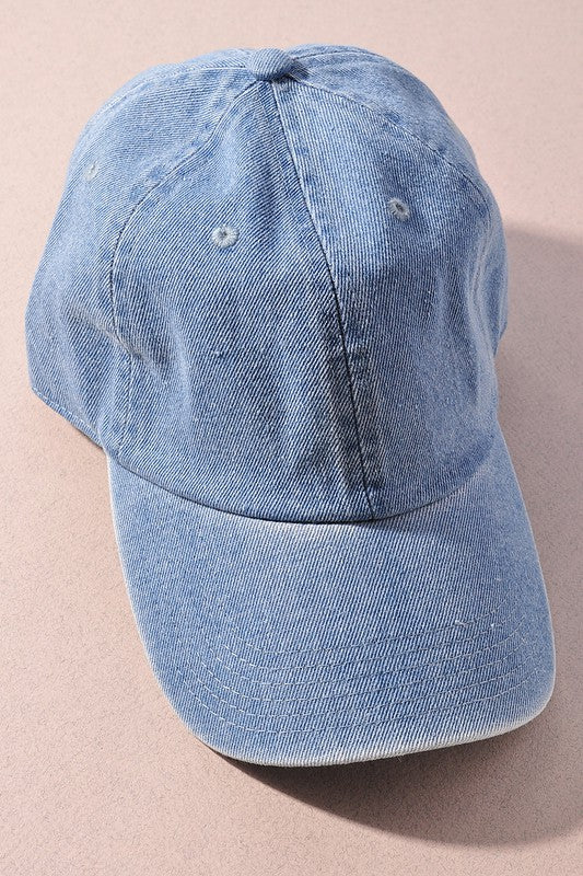 Must Have Baseball Cap Light Blue