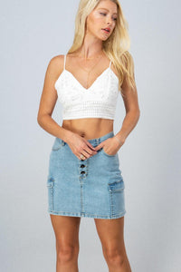 Tribeca Denim Skirt