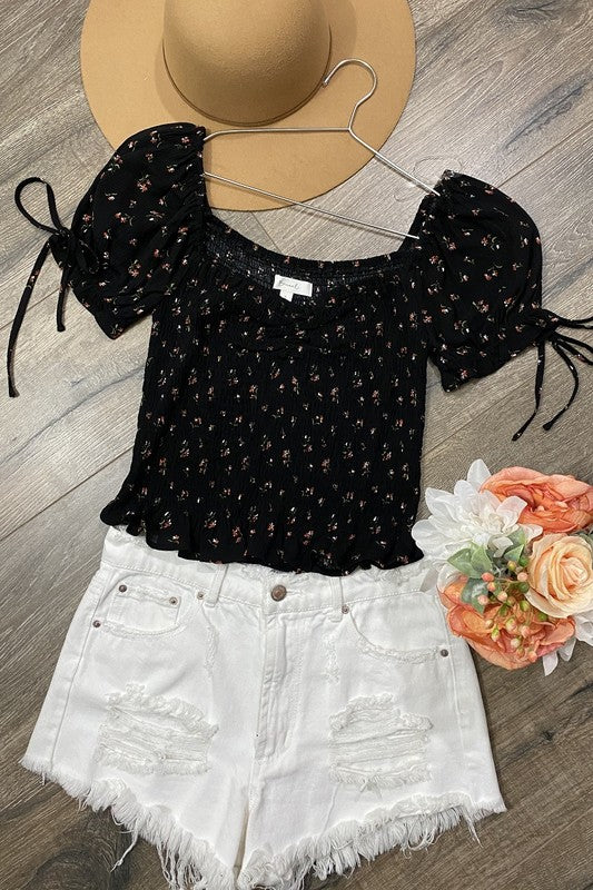 Grayce Top Black