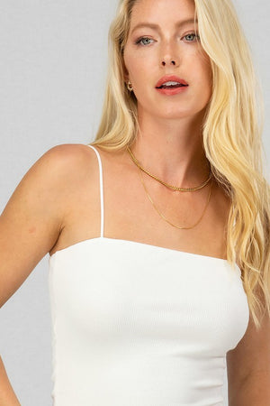 Jaci Crop Top White
