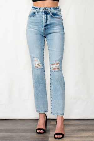 High Rise 90's Relaxed Jeans