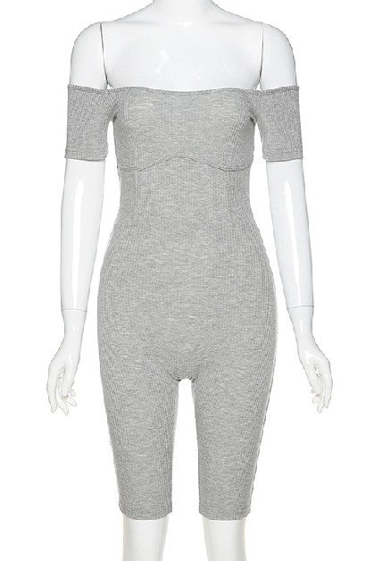 Zoe Lounge Ribbed Jumpsuit