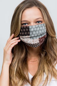 Luxe Face Mask Brown