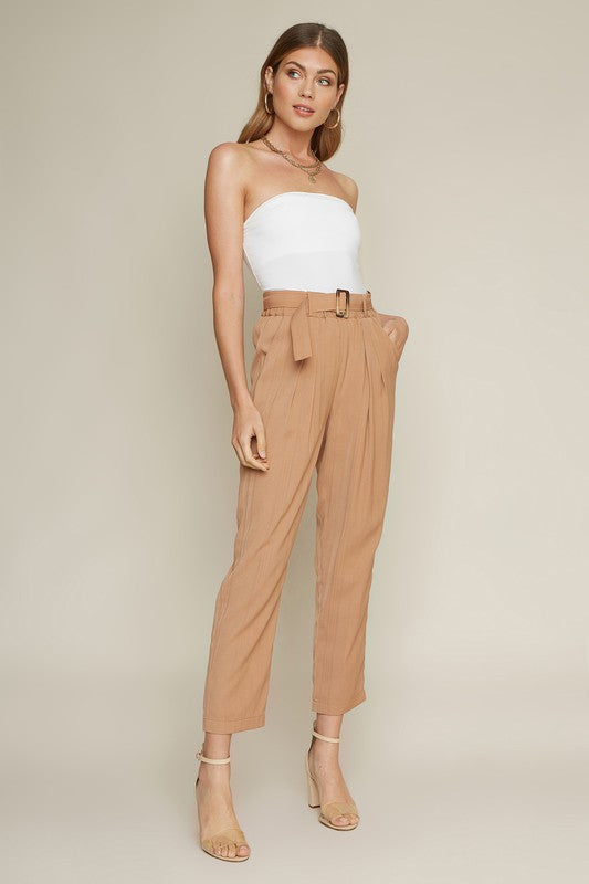 Marigold Pleated Pants