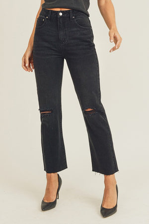 Brooklyn Cropped Straight Jean