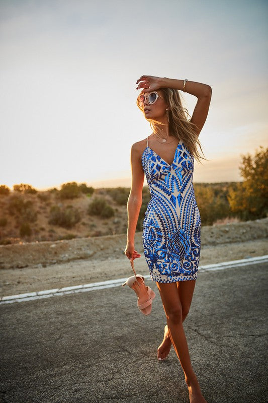 Wylder Sequin Dress