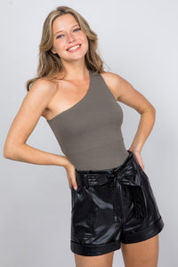 Tessa Reversible Top Olive