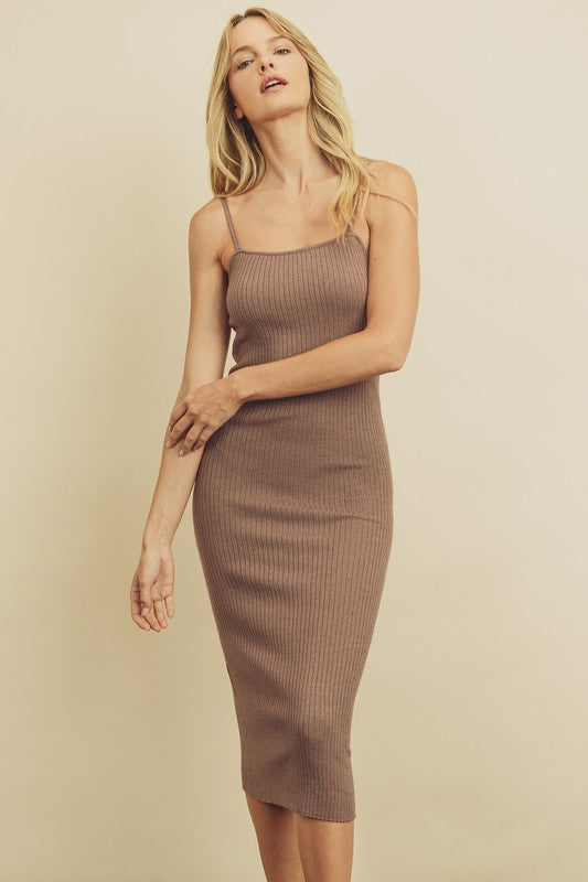 Gloria Ribbed Dress