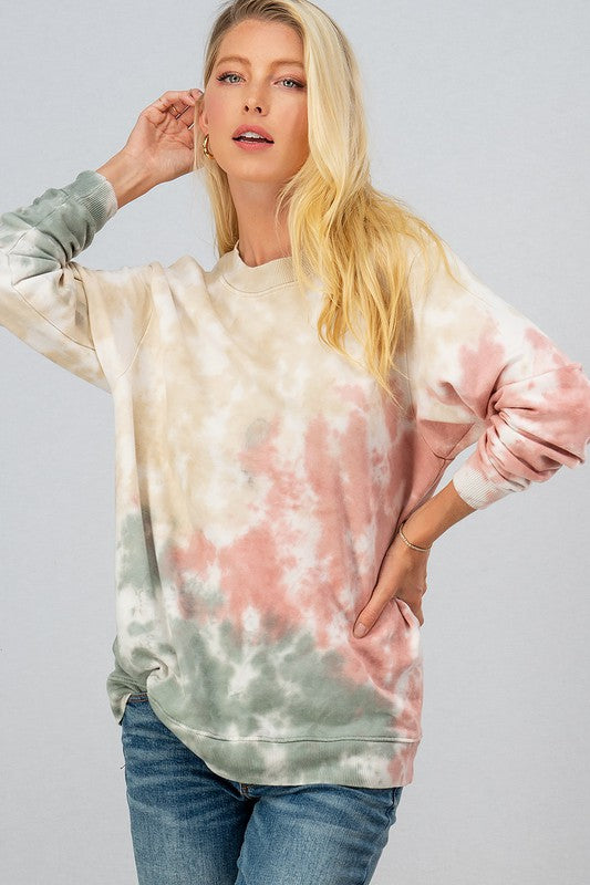 Santa Monica Tie Dye Sweater