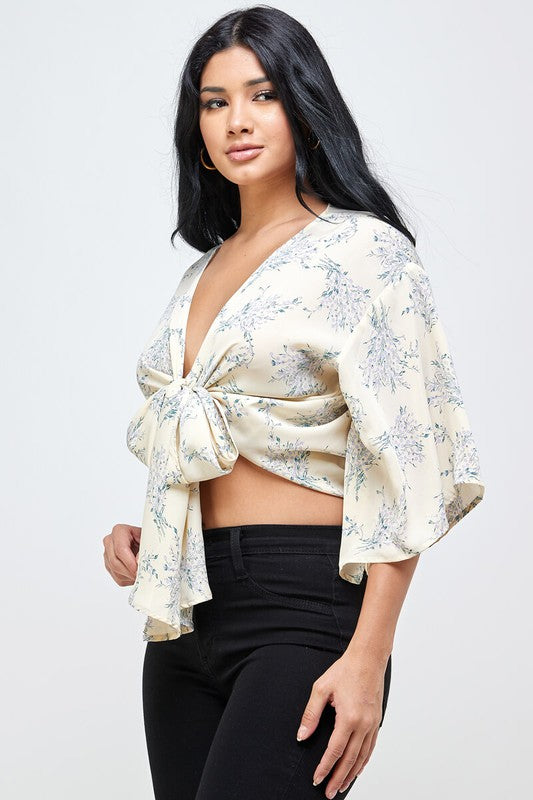 Diana Floral Crop Top
