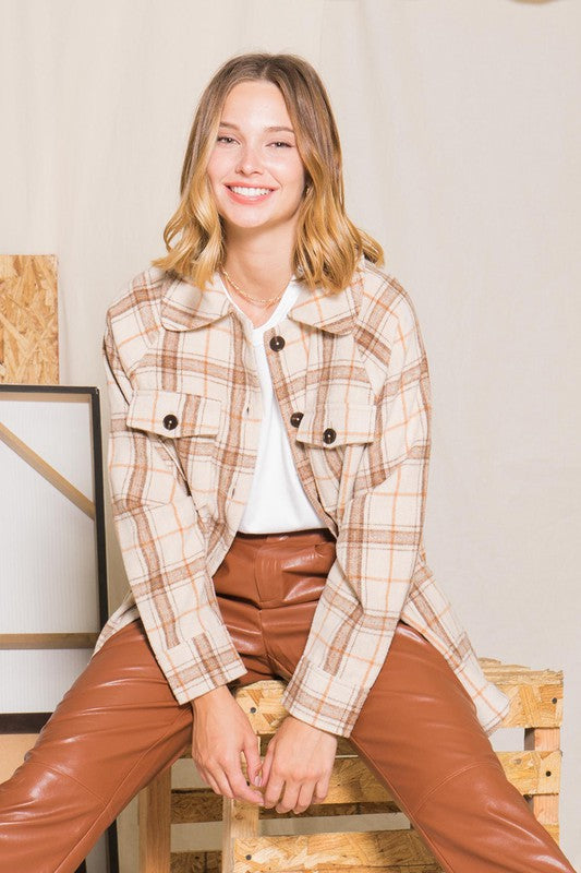 Cheyenne Plaid Jacket