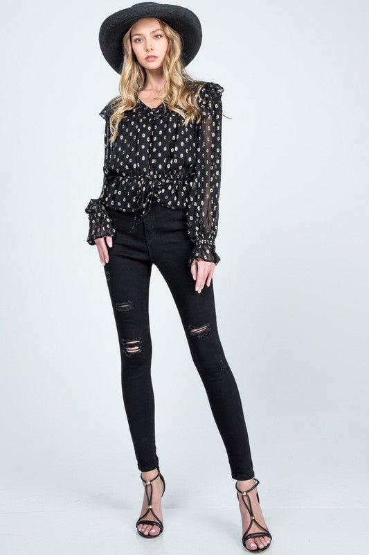 Jacie High Rise Skinny Jeans