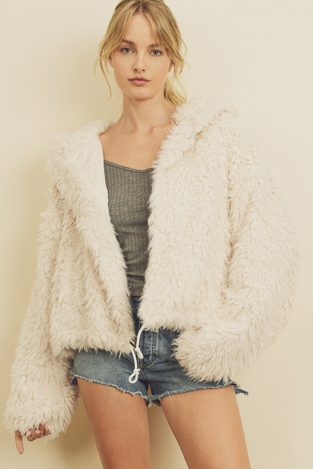 Snowball Faux Fur Jacket