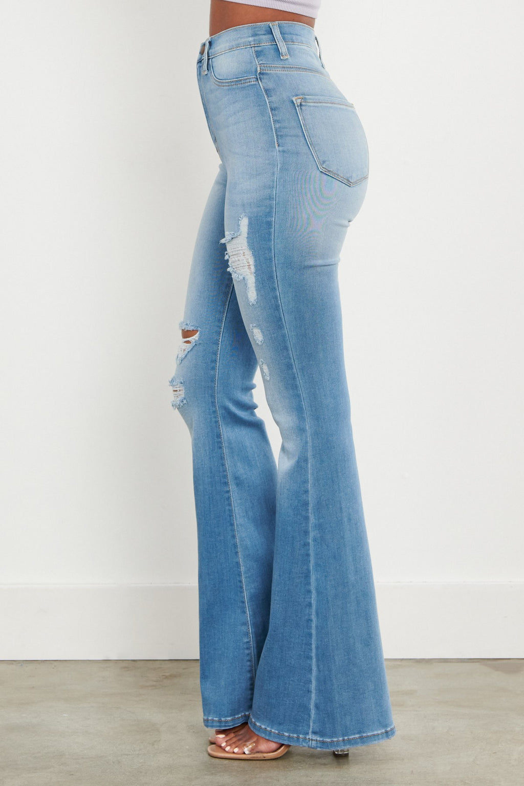 Bermuda Bell Bottoms