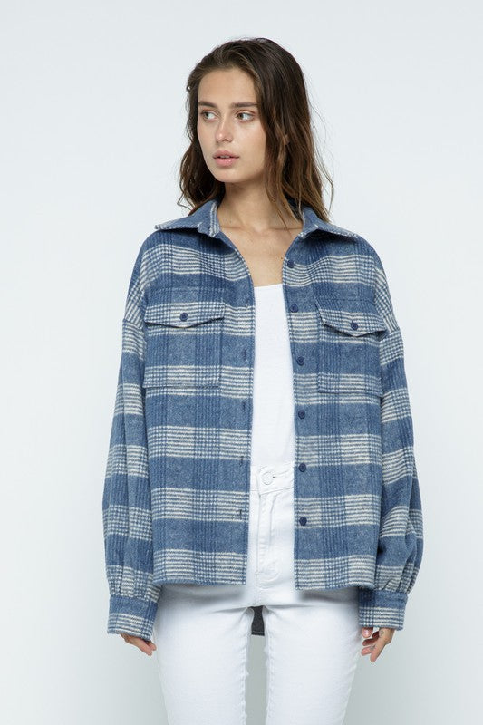 Moonlight Blue Plaid