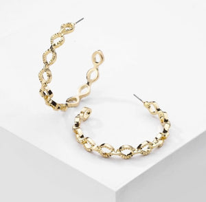 Hollow Chain Earrings