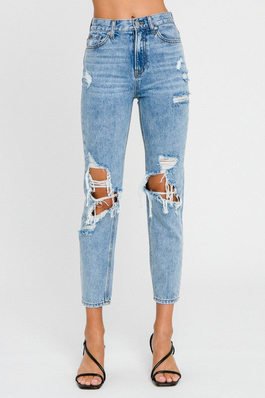 Gigi Destroyed Jeans
