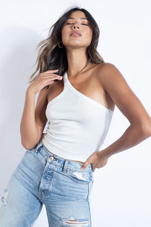 Penelope One Shoulder Top