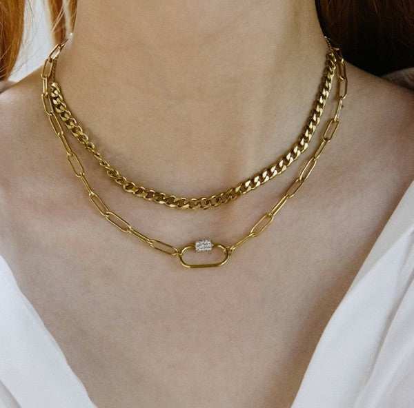 Lana Layered Choker Necklace