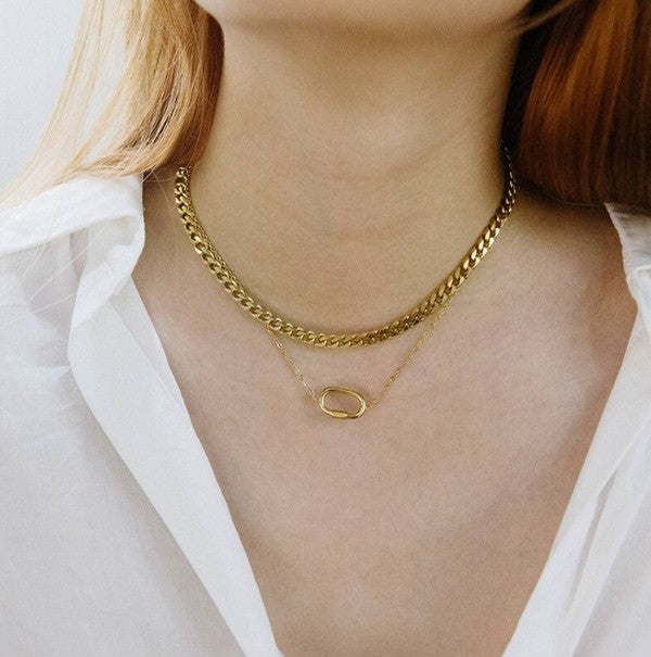 Clara Layered Choker Necklace