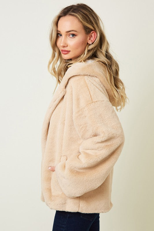 Katie Faux Fur Jacket