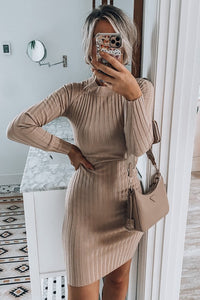 Reagan Dress Taupe