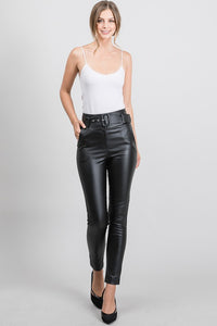 Victoria Faux Leather Pants