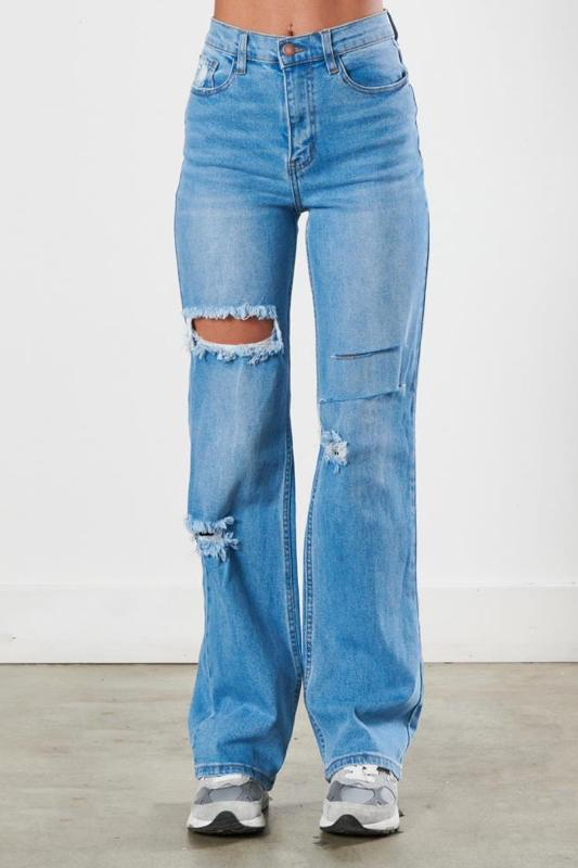 Gwyneth Distressed Jean