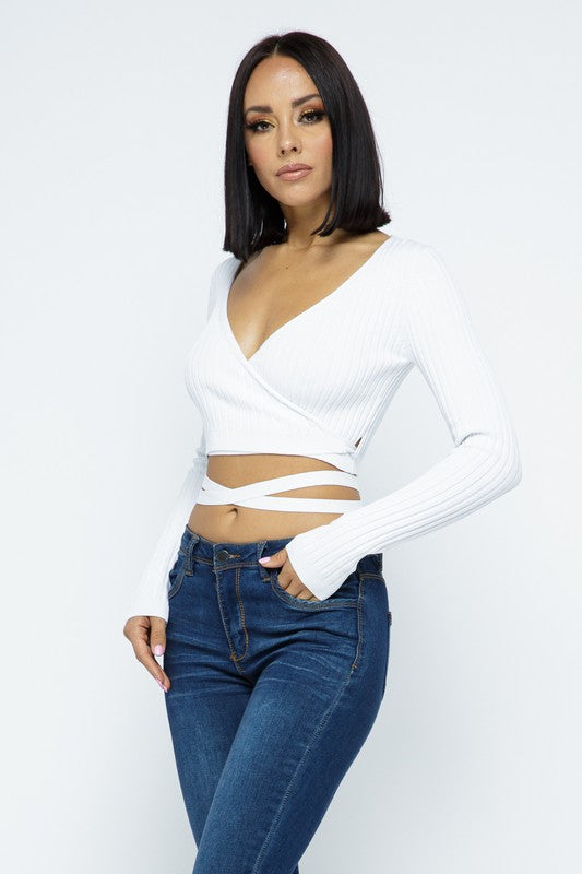 Angelica Wrap Top