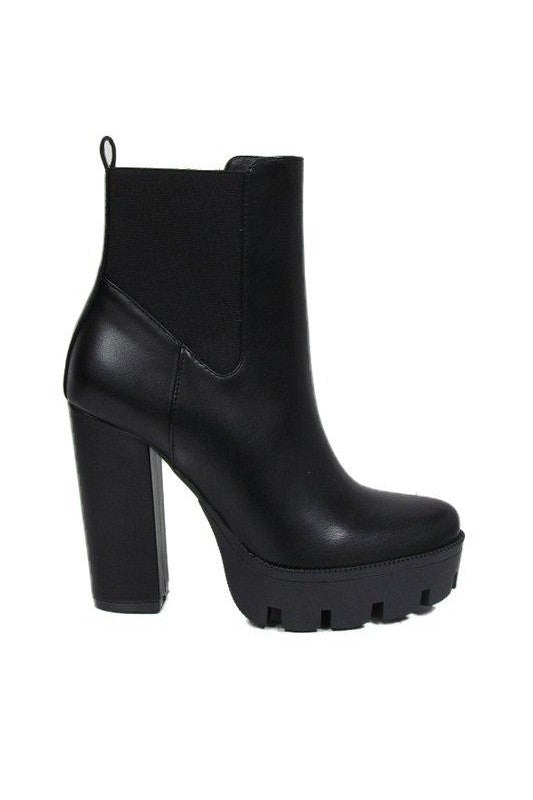 Lativa Bootie Faux Leather