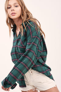 Jessie Plaid Top