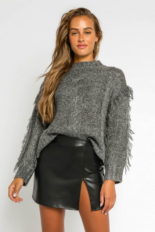 Rocky Mountain Fringe Sweater
