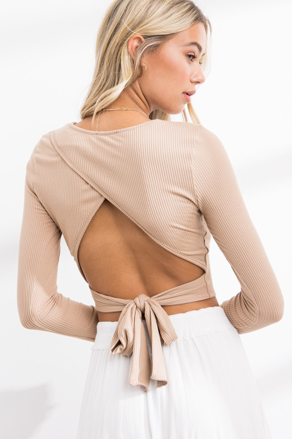 Sally Open Back Top