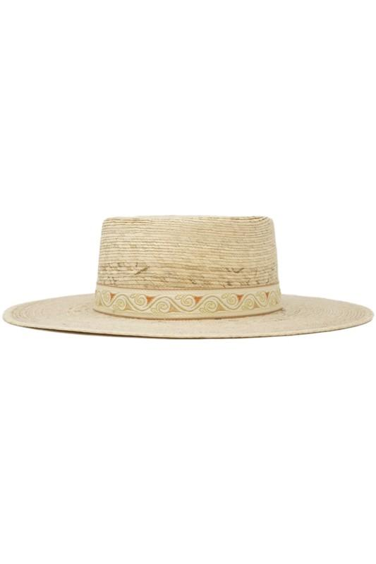 Maleah Palm Leaf Straw Hat