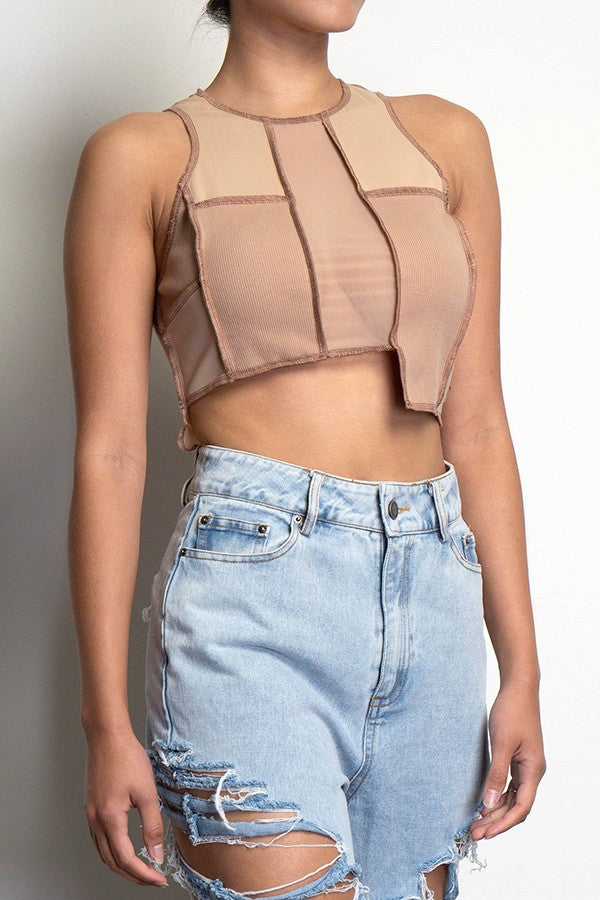 Hadid Crop Top