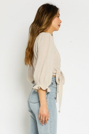 Dakota Wrap Top