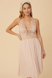 Bonnie Halter Dress
