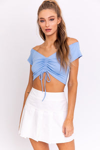 Shelby Ruched Top