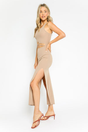 Rhiannon Dress Khaki
