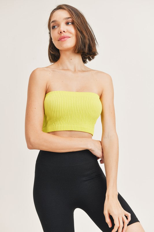 Dominica Tube Top Lime