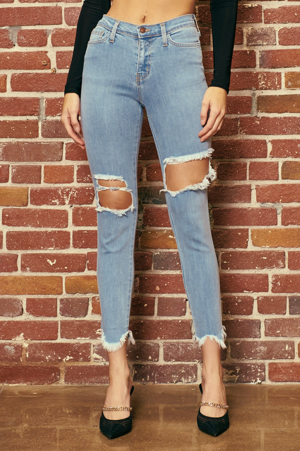 Juliana Distressed Skinny
