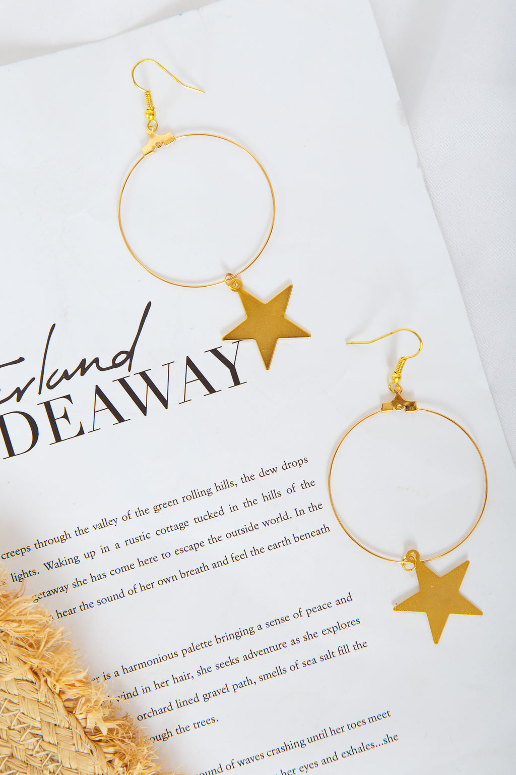 The Sight of Stars Makes Me Dream Earrings