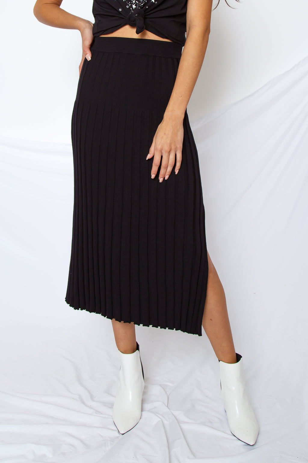 Downtown Midi Skirt