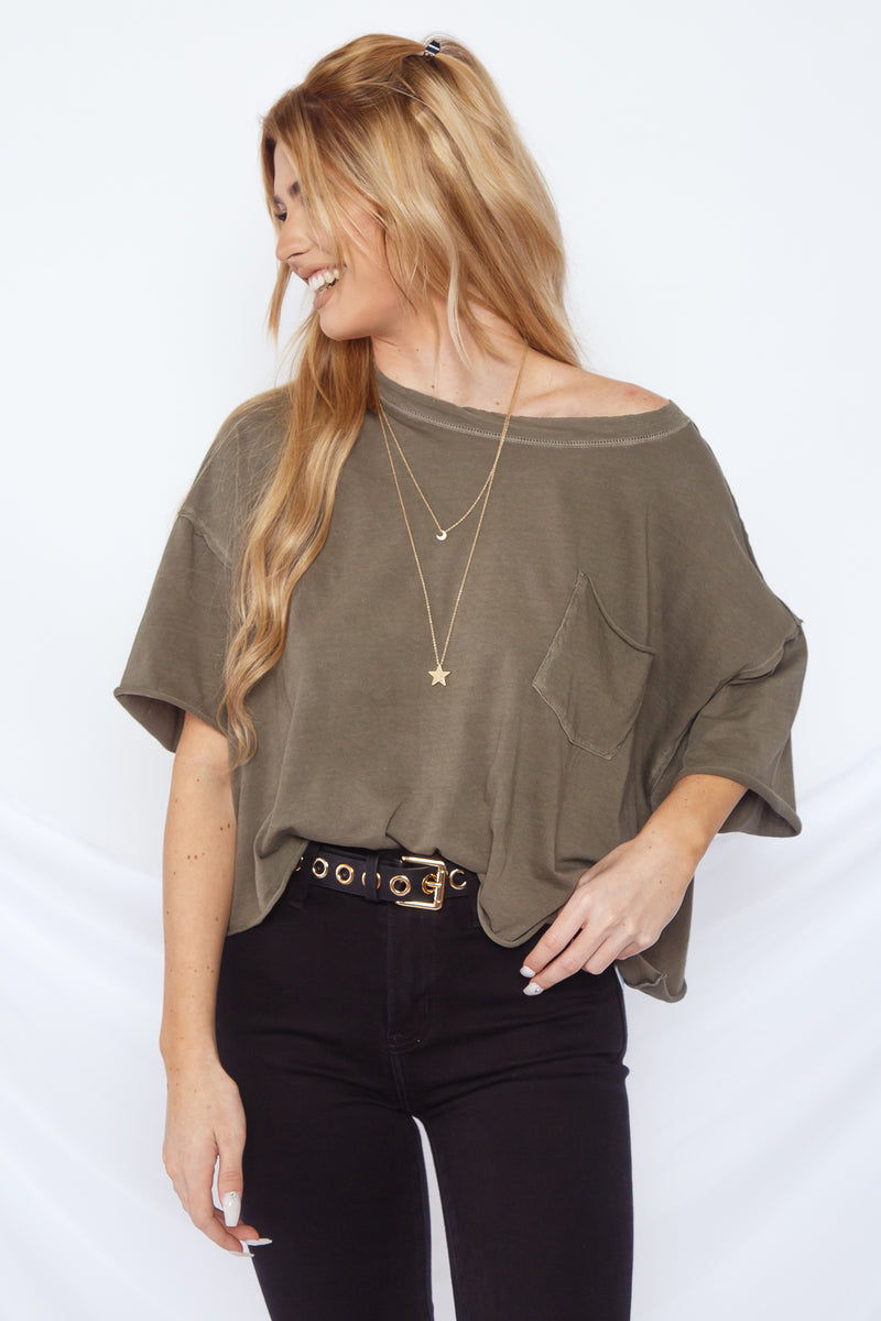 Free People Honey Tee