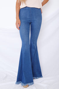 Frayed Bell Bottoms