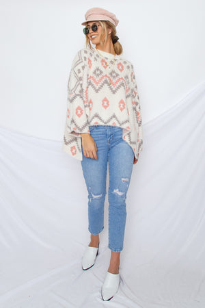 Bohemian Pullover Sweater
