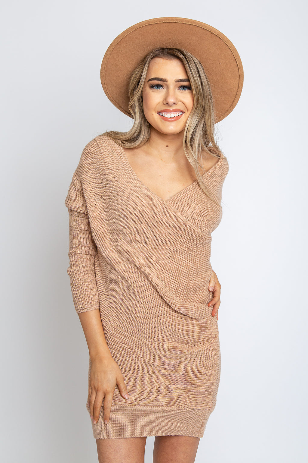 Tara Knit Sweater Dress