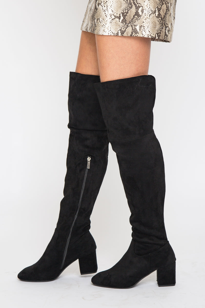 Charley OTK Boot Black