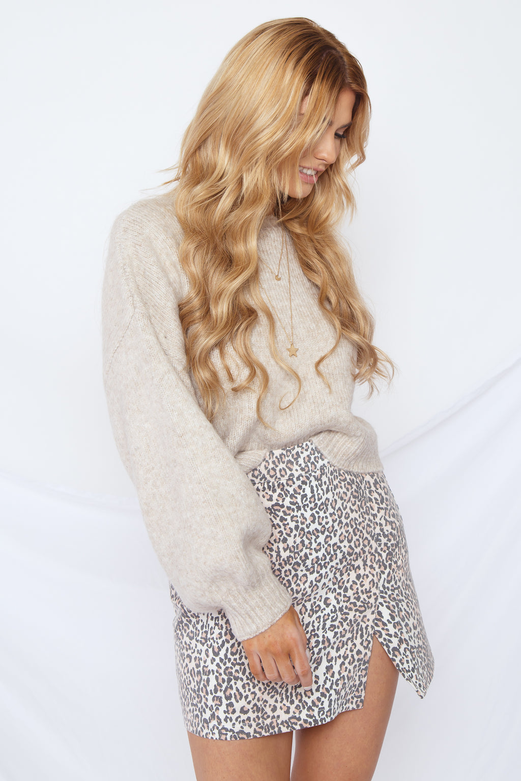 Sand Dollar Sweater